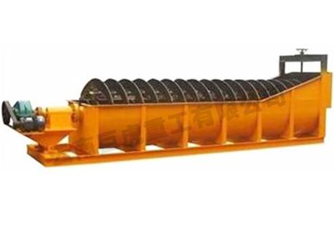 槽式螺旋洗砂机