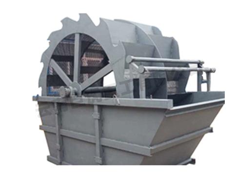 小型轮式洗砂机