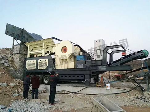 云南反擊式移動破碎站設備廠家