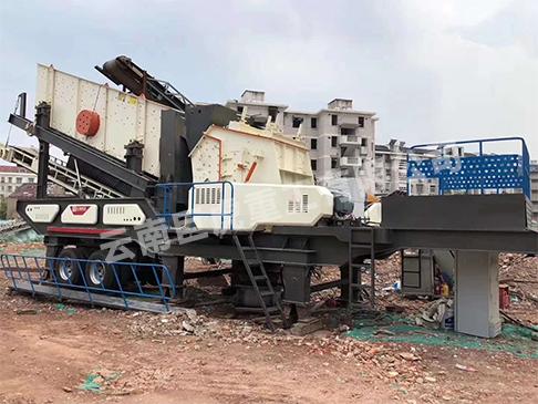 云南玉溪移动反击式破碎站的工作原理是什么?