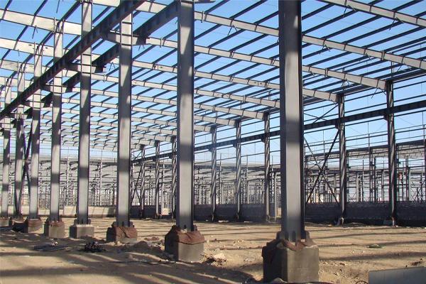 大理建材城鋼結構工程