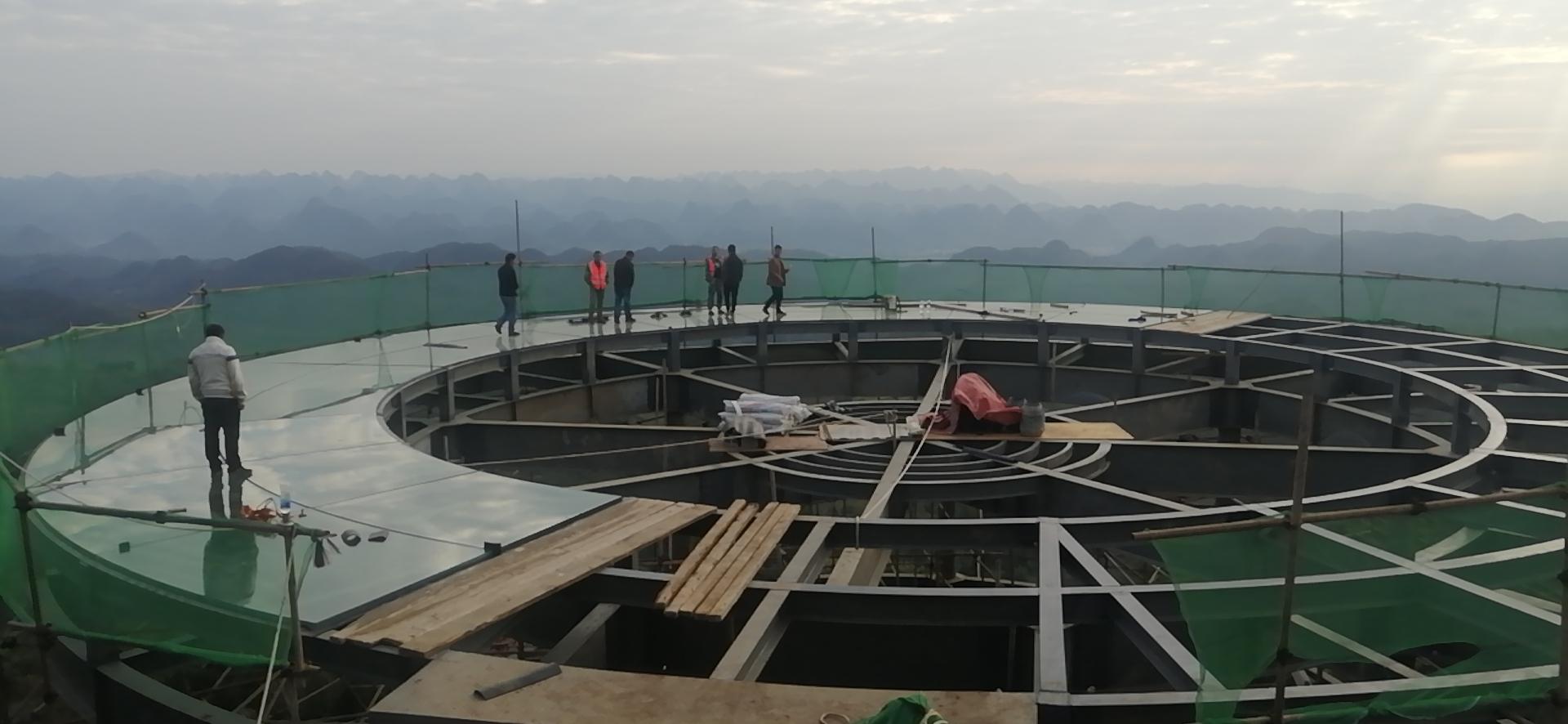 云南鋼結構觀景平臺造價