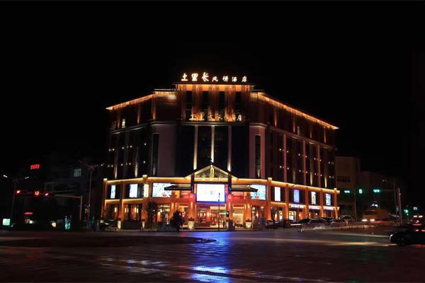 文山丘北縣城酒店幕墻整體改造
