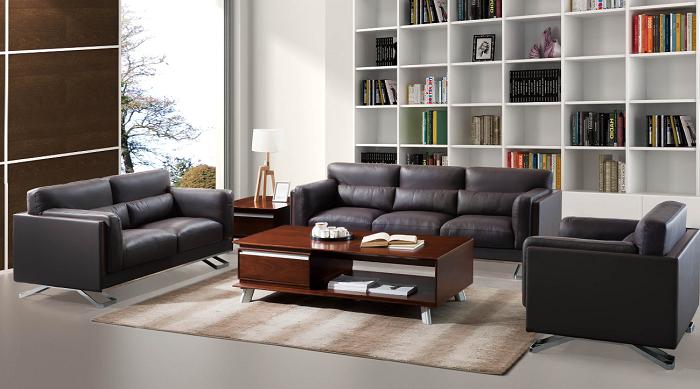 现代钢架羽绒沙发