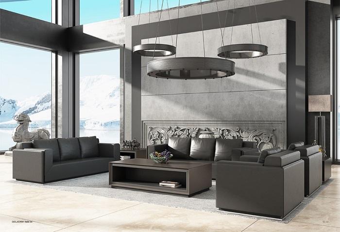 现代款大款沙发