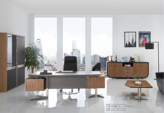 创意皮台办公桌
