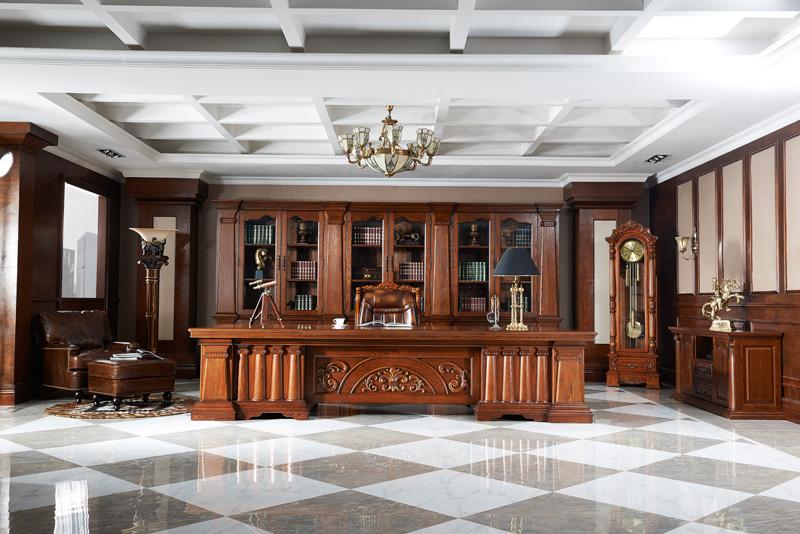 3米6实木办公桌