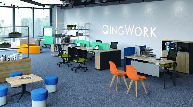 北欧风格职员办公区