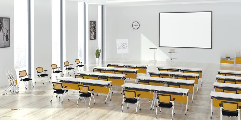 多功能可移动折叠会议条桌