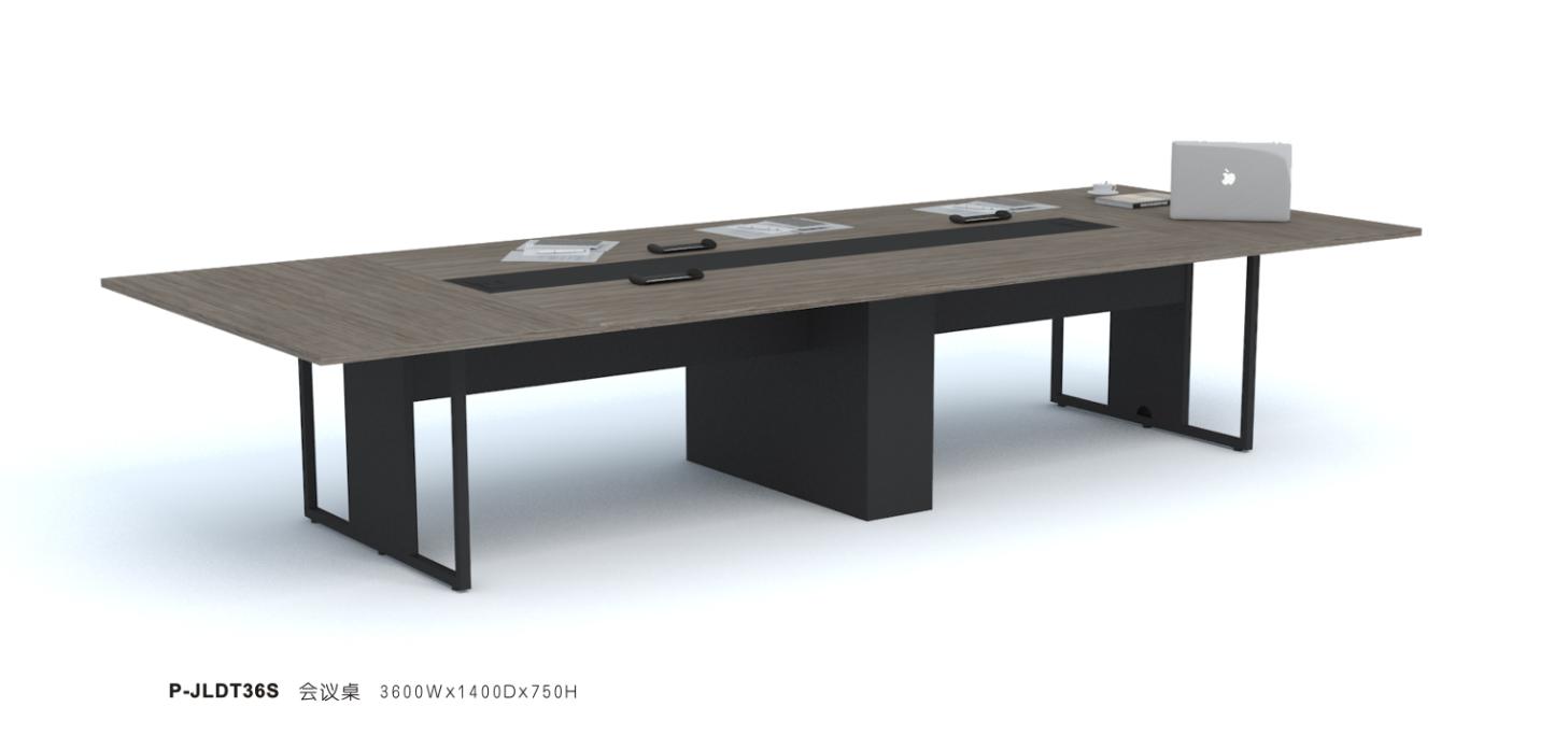 商务风钢架会议桌