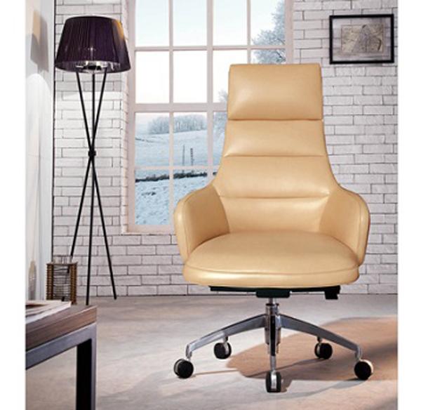 进口头层牛皮现代时尚个性办公椅