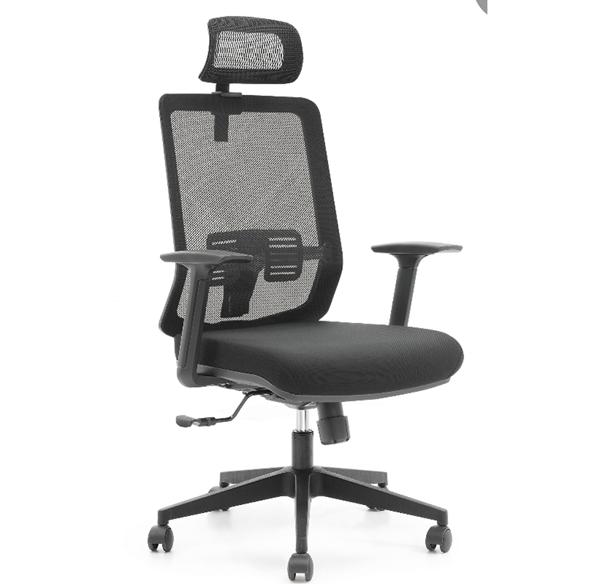带靠头带腰靠多功能转椅
