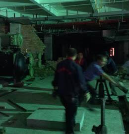 石桥广场大型设备搬迁