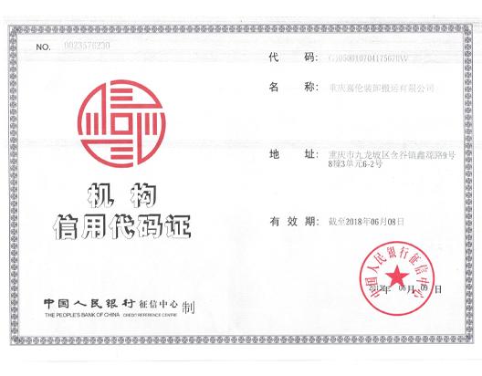 嘉伦中国银行征信