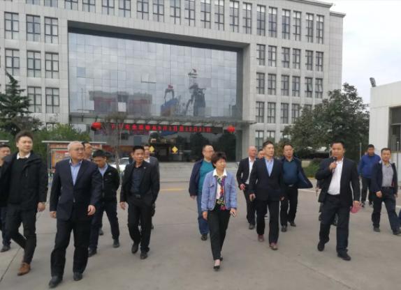 (国家)建筑材料工业技术情报研究所考察团一行赴澄城县考察调研