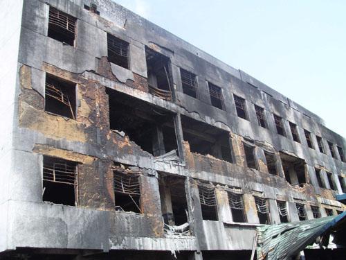 火灾后房屋检测与房屋安全性鉴定