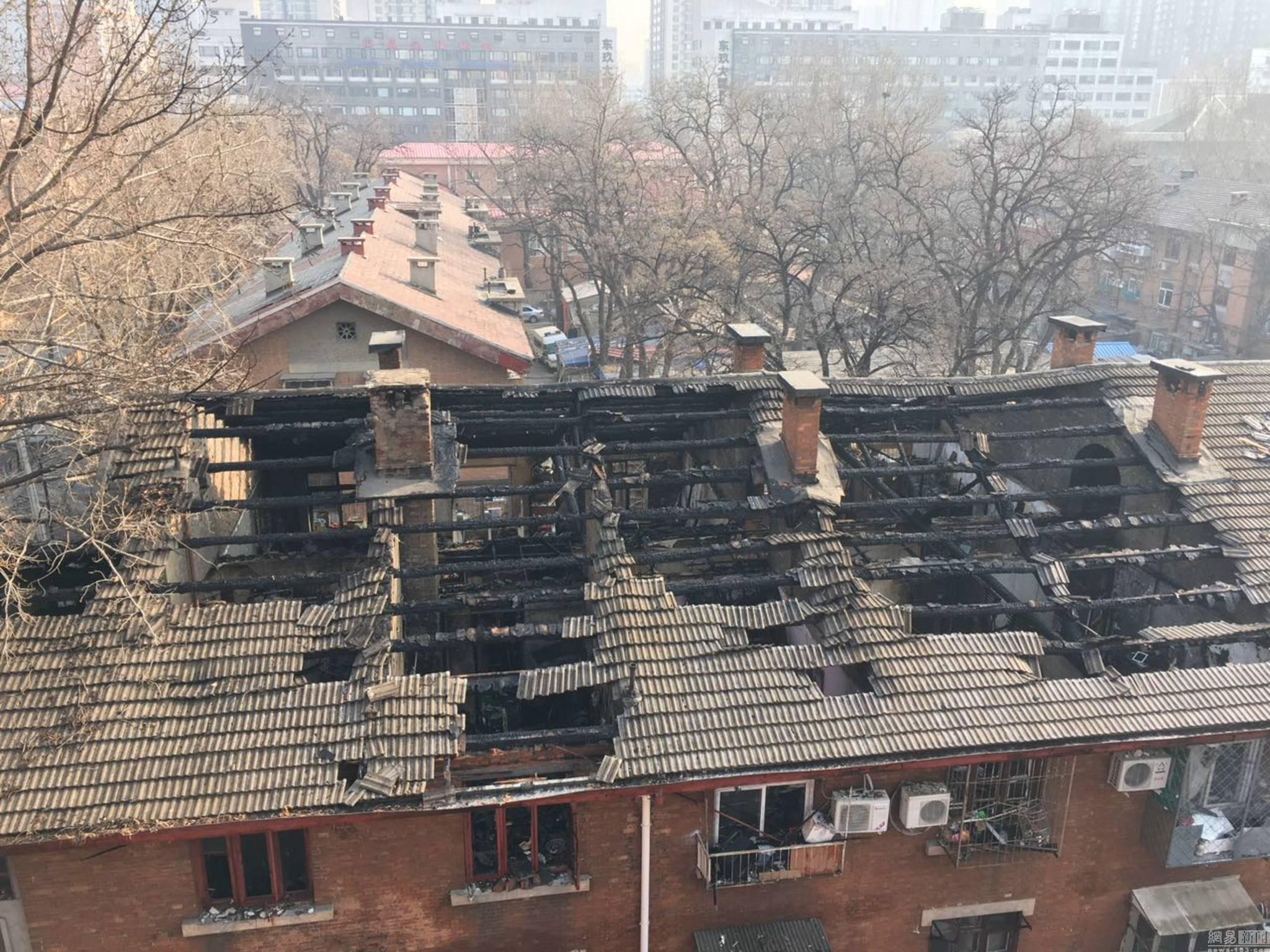火灾后房屋检测
