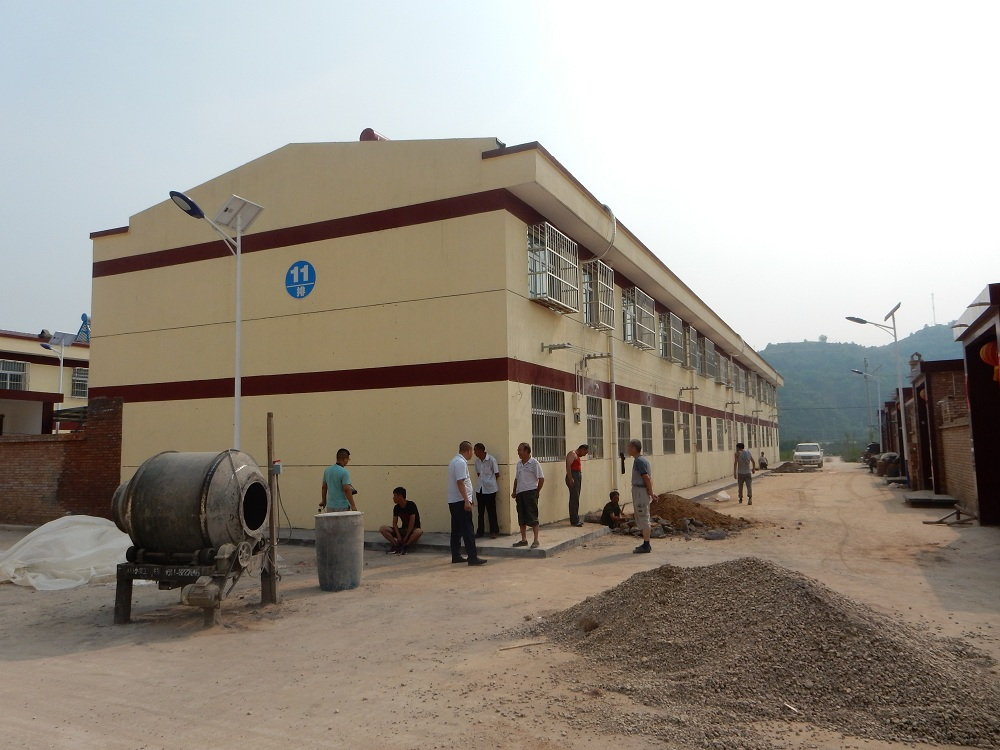 延安富县某社区砌体结构房屋民房危房检测司法鉴定