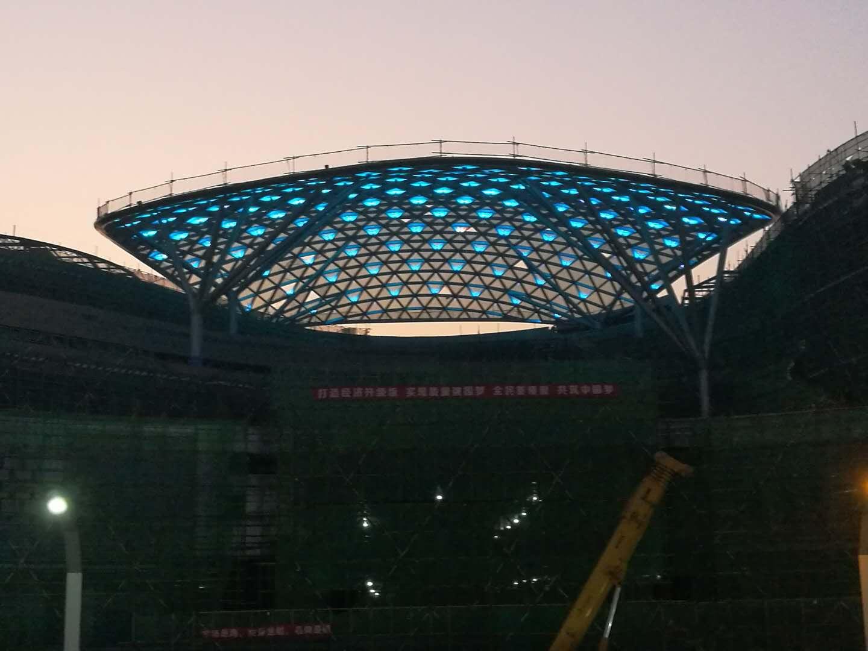 沈阳幕墙维修与太原工程采光顶安装的工程案例
