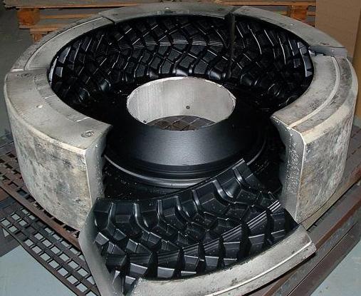 轮胎模具喷涂特氟龙