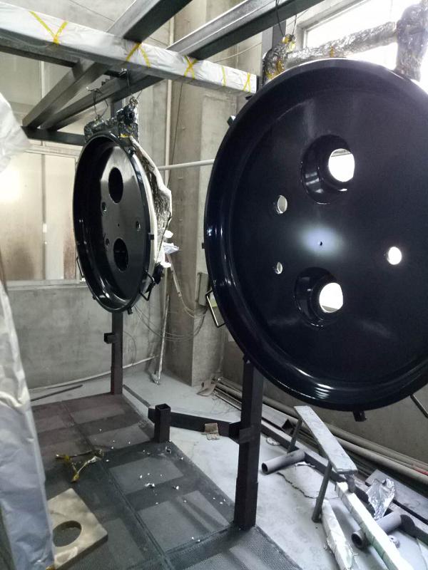 F30喷涂离心机盖子