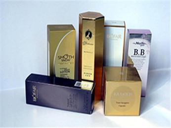 金银卡纸工艺化妆品盒