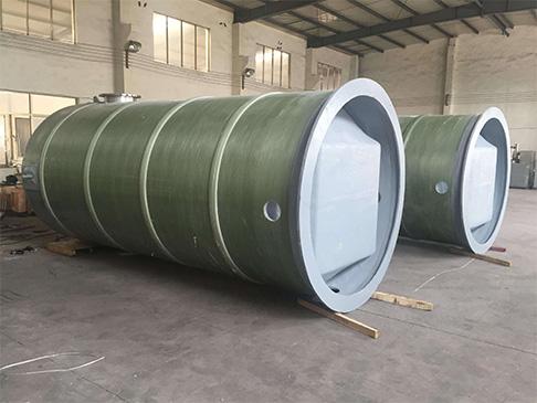 一体化玻璃钢雨水泵站