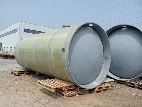 玻璃钢预制泵站