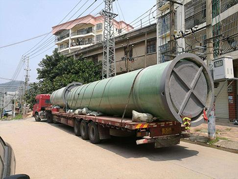 玻璃钢污水一体化泵站