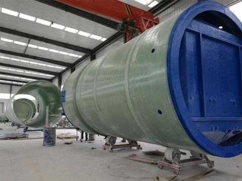 威海玻璃钢泵站一体化