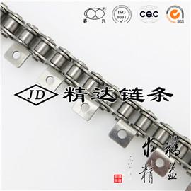 短节距不锈钢链条带单侧K1附件