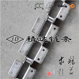 双节距不锈钢链条带双侧K2附件