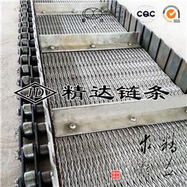 刮板式不锈钢链条输送网带