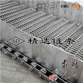 高挡板不锈钢链条输送网带