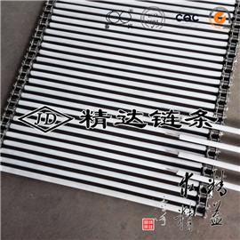 特氟龙管不锈钢链条串杆输送带