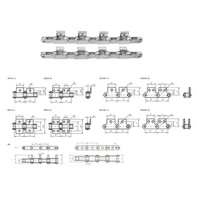 6.双节距滚子链条及附件