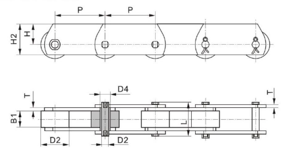 15 MT系列输送链条