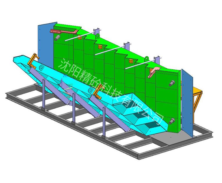 预制楼梯模具--翻转式