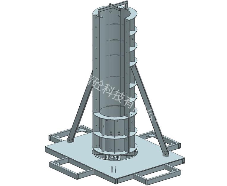 圆柱模具设计