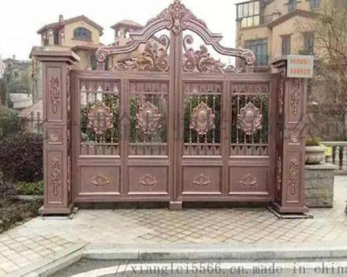 别墅铝艺大门的铸铝花件与压铸花件区别在哪里?
