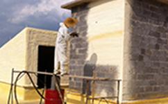 沈阳喷涂保温厂家使用聚氨酯保温系统的墙体承载力更轻,更安全