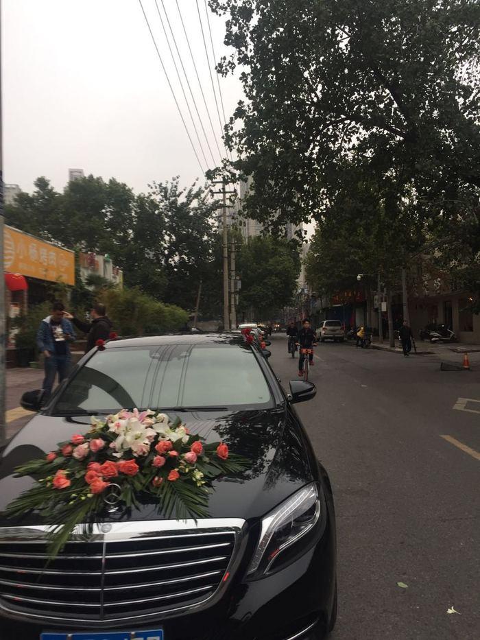 华胥镇宝马5系婚车
