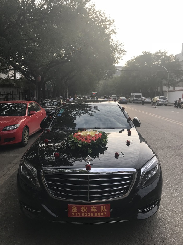 凤城五路婚车