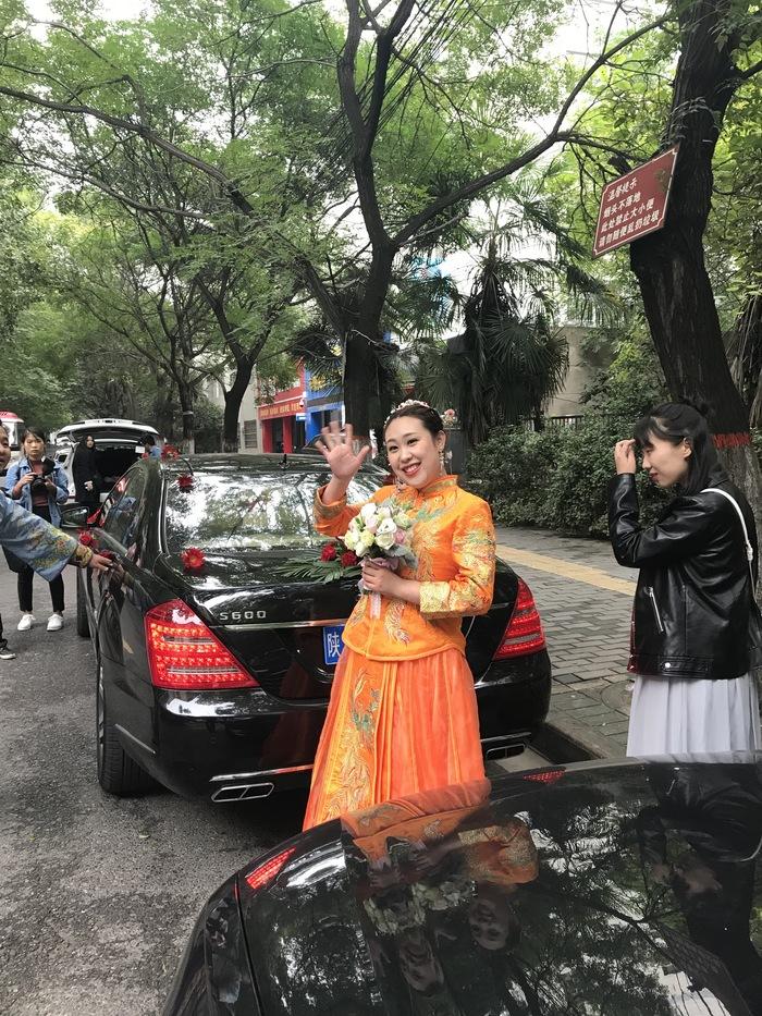 西京大学婚车