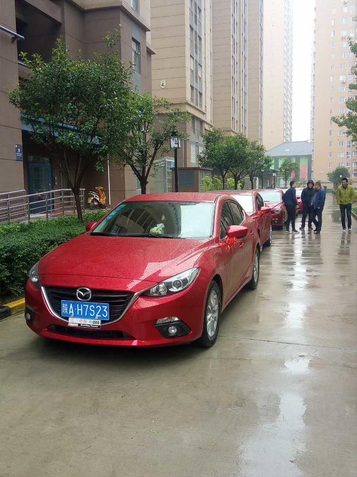 长乐坡婚车