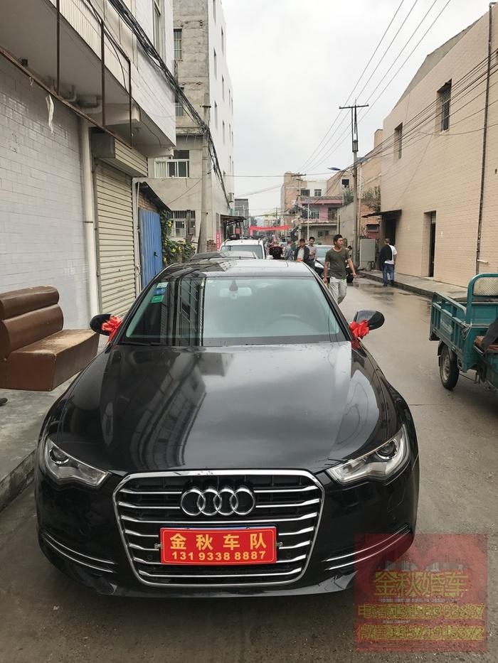 曲江池婚车