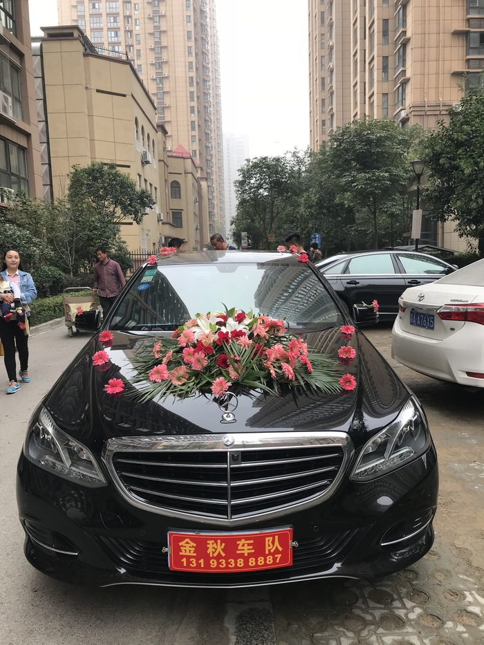 九峰鎮奔馳婚禮車隊
