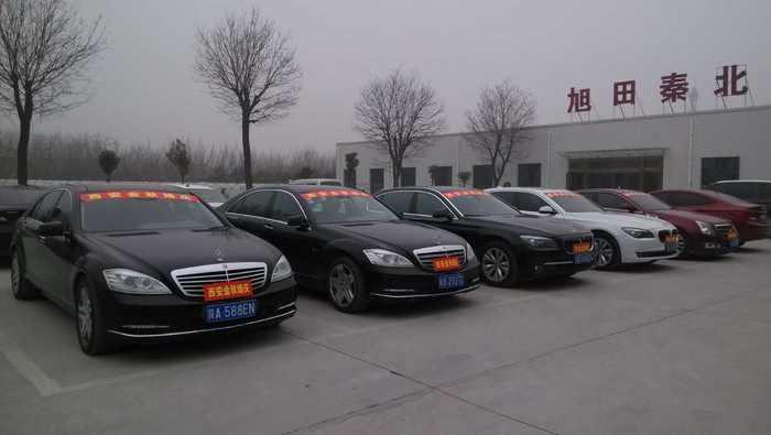 九峰鎮寶馬7系婚禮車隊