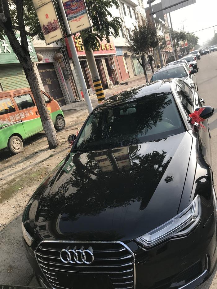 陳河鎮奧迪A6L婚禮車隊