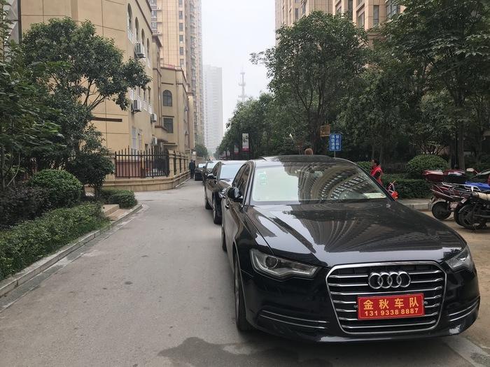 陳河鎮奧迪A4婚禮車隊